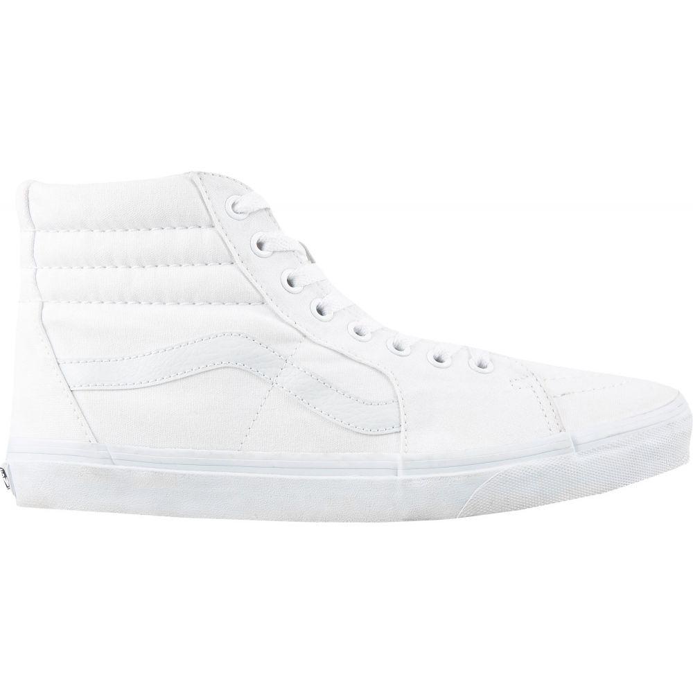 ヴァンズ Vans メンズ スケートボード シューズ・靴【Canvas SK-8 Hi Shoes】White/White