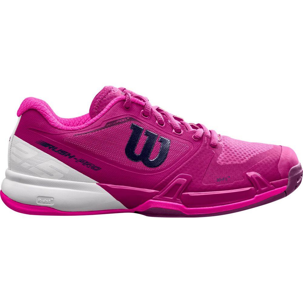 ウィルソン Wilson レディース テニス シューズ・靴【Rush Pro 2.5 Tennis Shoes】Berry