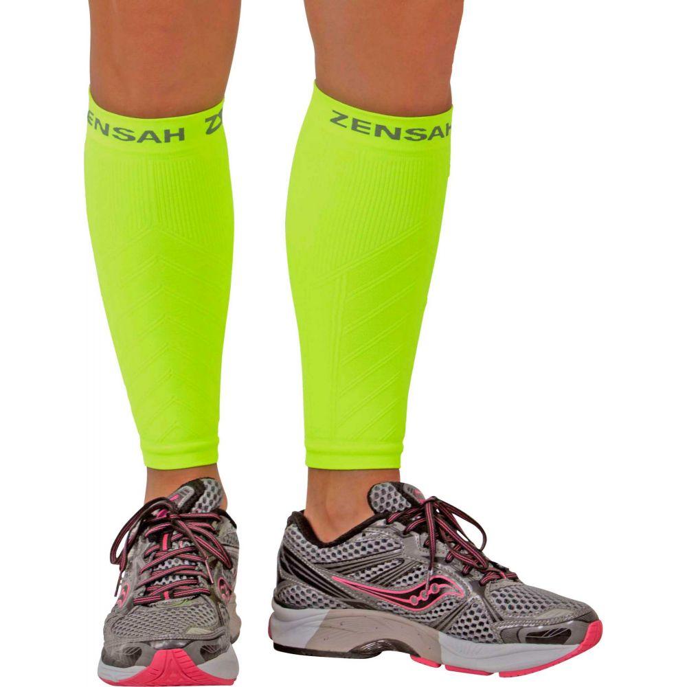 ゼンサー Zensah メンズ フィットネス ゼンサー・トレーニング サポーター【Compression Leg Zensah Sleeves Yellow】Neon Yellow, 越後新潟 ギフトショップハクシン:dee27323 --- reisotel.com