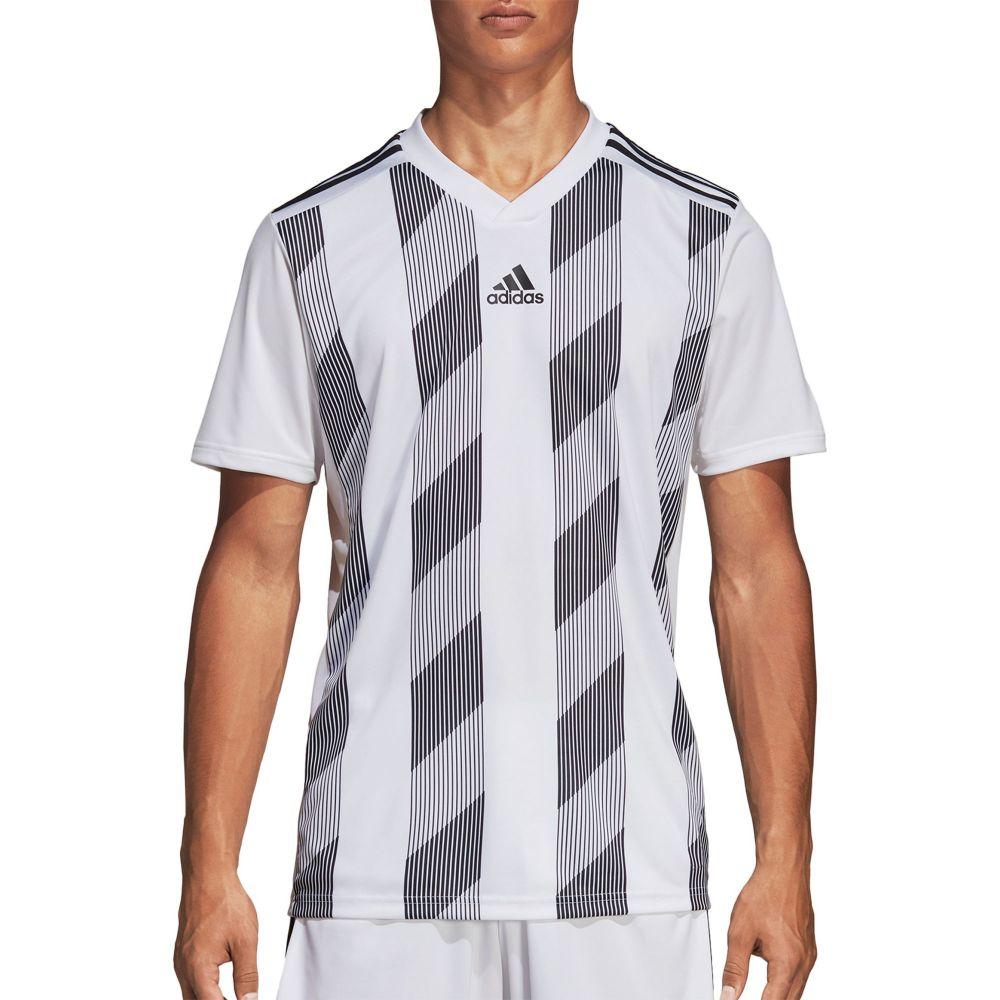 アディダス adidas メンズ サッカー トップス【Striped 19 Soccer Jersey T-Shirt】White/Black