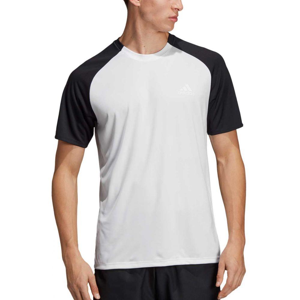 アディダス adidas メンズ テニス トップス adidas【Club テニス トップス【Club Colorblock Tennis Shirt】White/Black, ハウズ how's:58b052be --- officewill.xsrv.jp