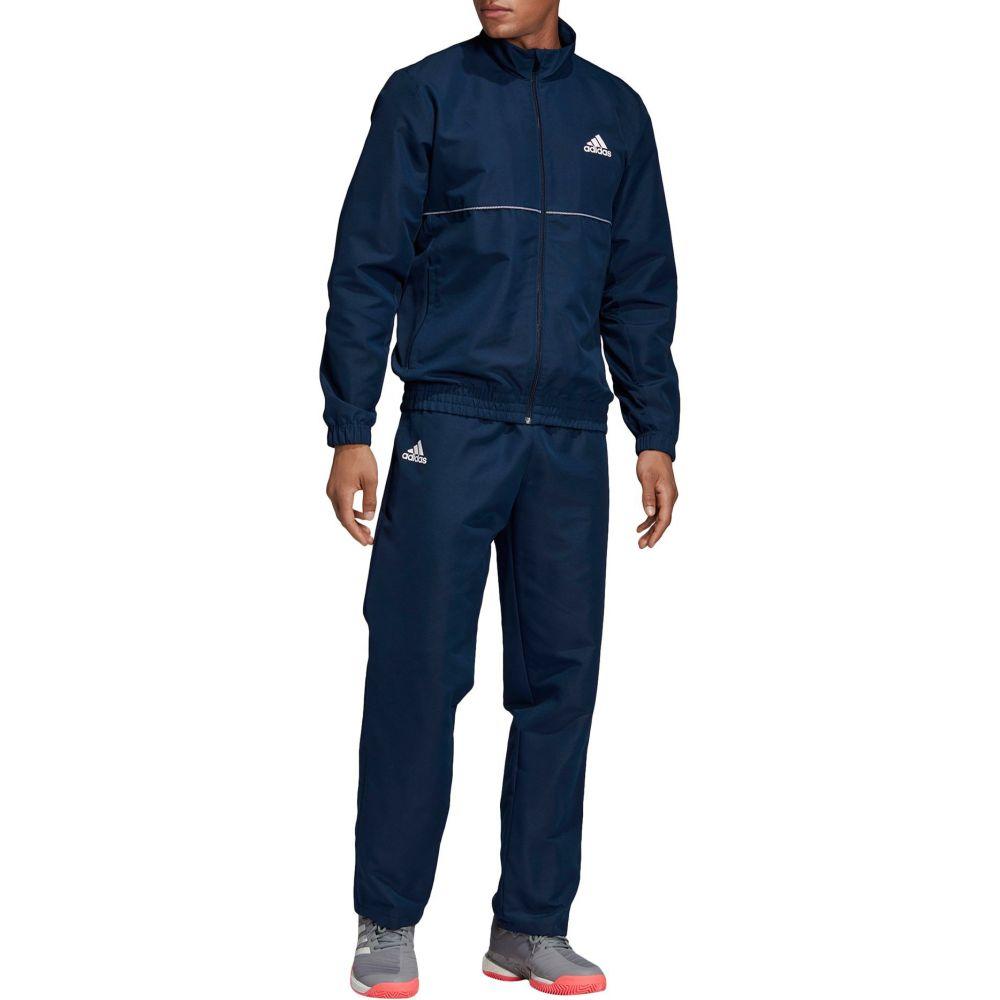 アディダス Tennis adidas Navy/White メンズ メンズ テニス トップス【Club Tennis Tracksuit】Collegiate Navy/White, リブレイン:9350e497 --- officewill.xsrv.jp
