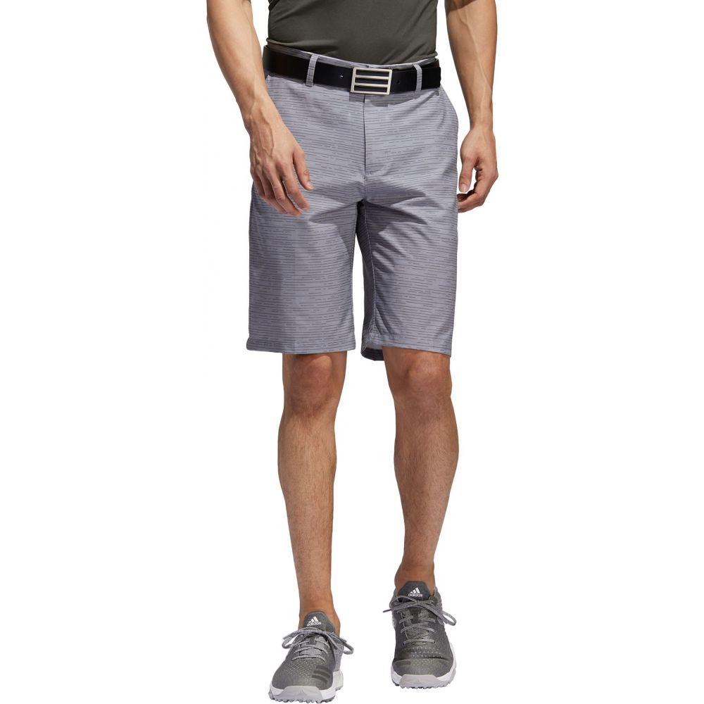 アディダス adidas メンズ ゴルフ ボトムス・パンツ【Ultimate365 Dash Golf Shorts】Gray/Gray