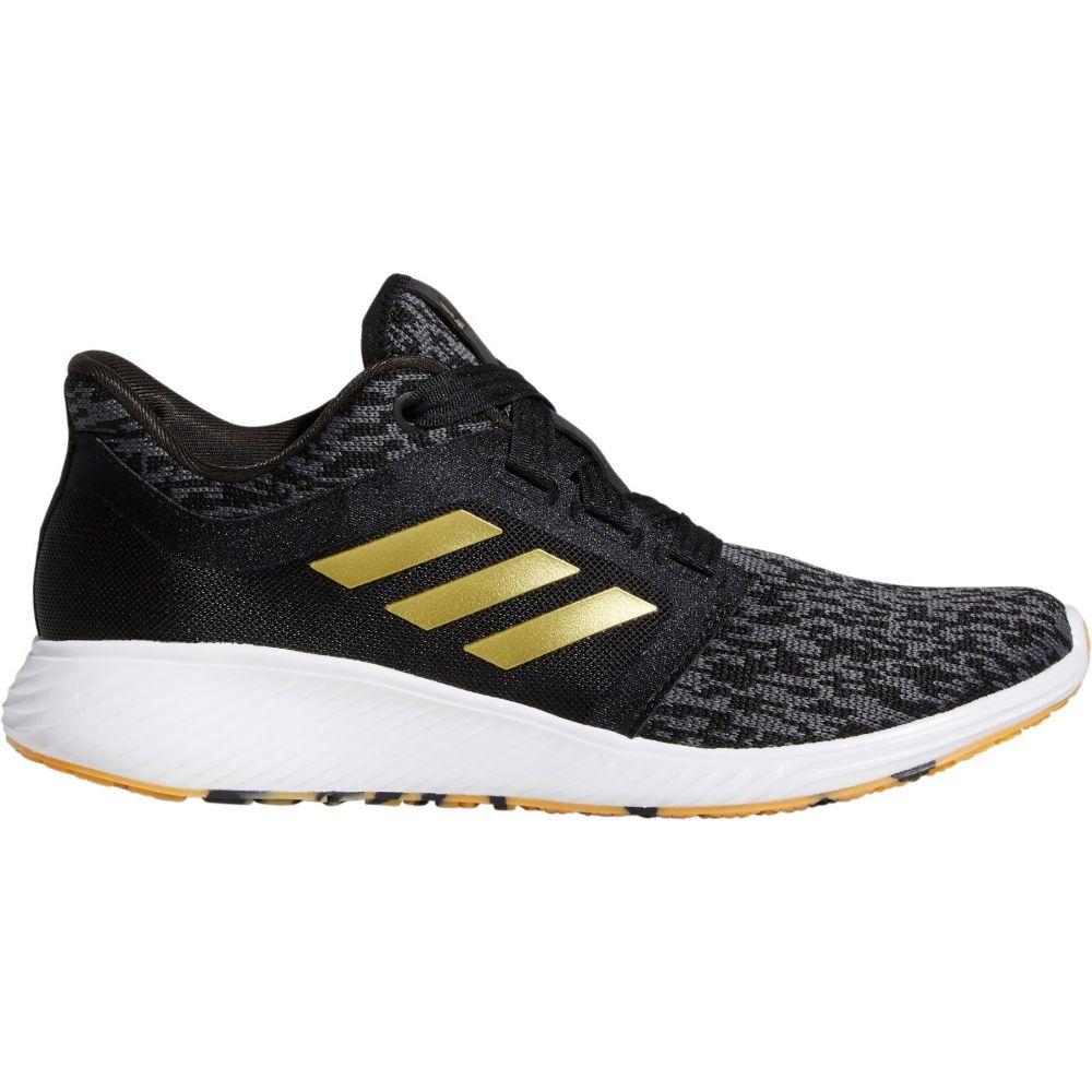 アディダス adidas レディース ランニング・ウォーキング シューズ・靴【Edge Lux 3 Shoes】Black/Gold/White