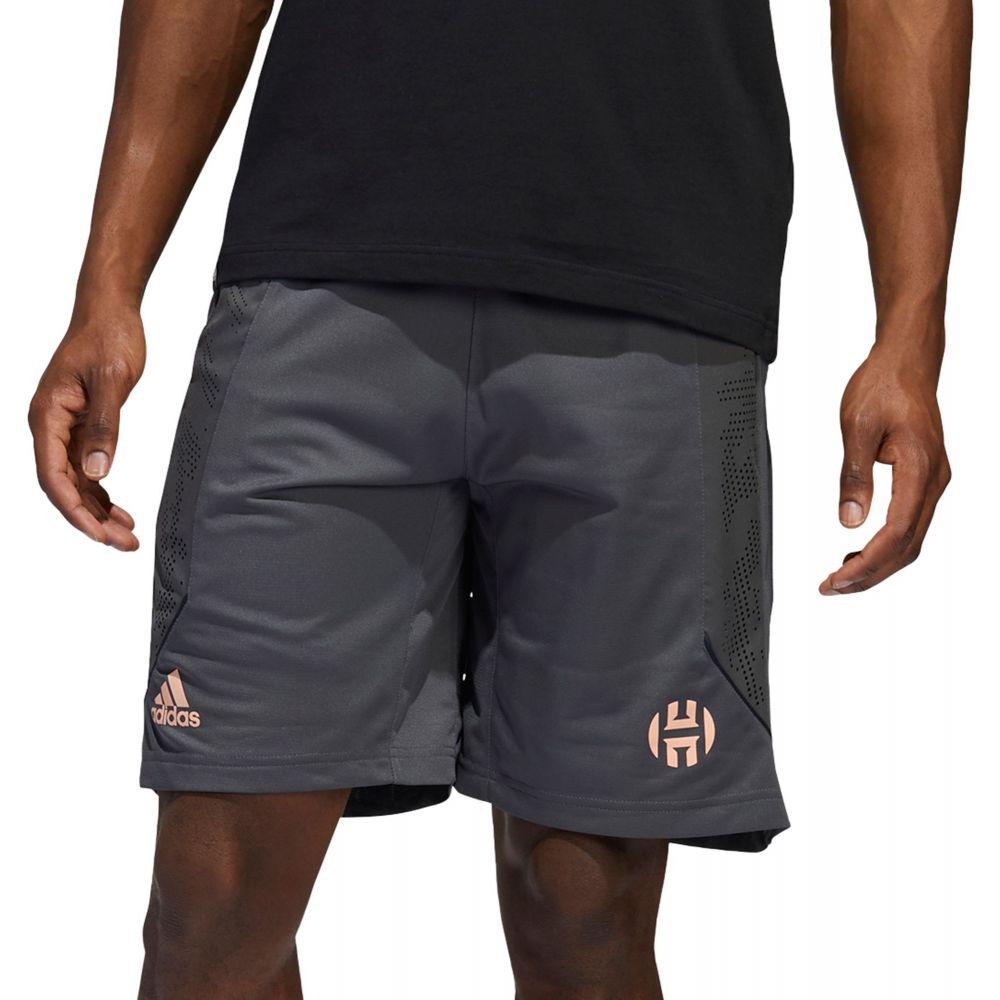 アディダス adidas メンズ バスケットボール ボトムス・パンツ【Harden Swagger Basketball Shorts】Grey