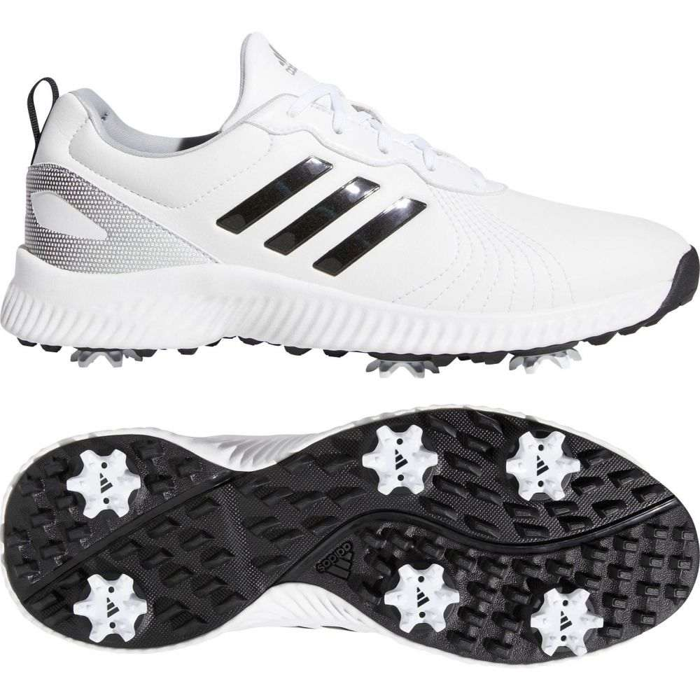 アディダス adidas レディース ゴルフ シューズ・靴【Response Bounce Golf Shoes】White/Black