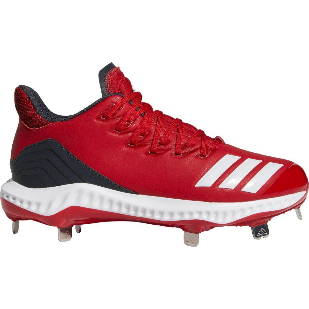 アディダス adidas レディース 野球 シューズ・靴【Icon Bounce Metal Fastpitch Softball Cleats】Red/White