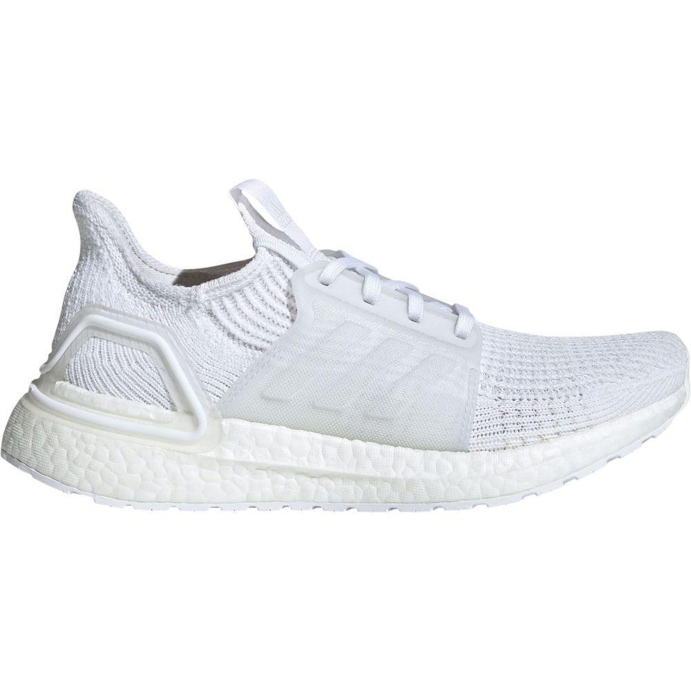 アディダス adidas レディース ランニング・ウォーキング シューズ・靴【ultraboost 19 running shoes】白い/白い