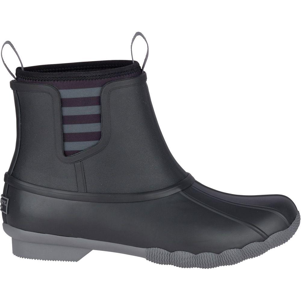 スペリー Sperry Top-Sider レディース シューズ・靴 ブーツ【Sperry Saltwater Chelsea Waterproof Winter Boots】Black
