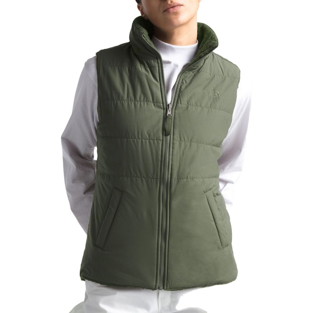 ザ ノースフェイス The North Face レディース トップス ベスト・ジレ【Reversible Merriewood Vest】New Taupe Gr/New Taupe Gr