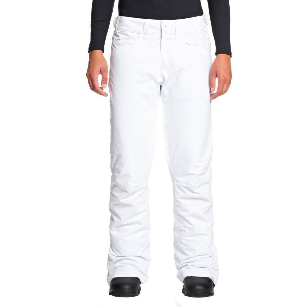 ロキシー Roxy レディース スキー・スノーボード ボトムス・パンツ【Backyard Snow Pants】Bright White