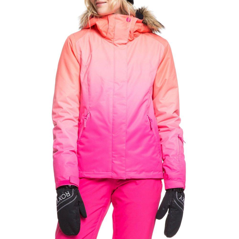 ロキシー Roxy レディース スキー・スノーボード アウター【Jet Ski SE Snow Jacket】Beetroot Pink Prado Grdnt