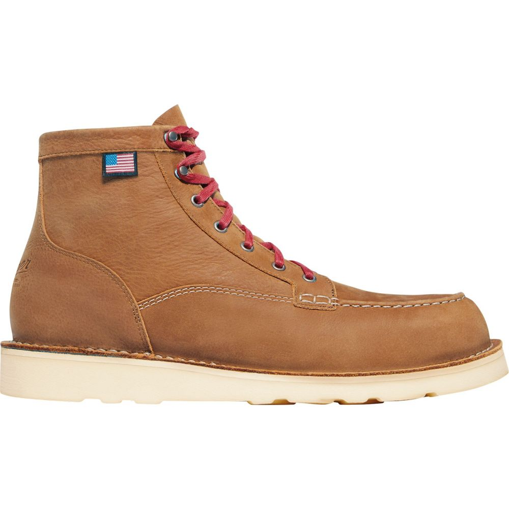 ダナー Danner メンズ シューズ・靴 ブーツ【Bull Run Lux Unlined 6'' Work Boots】Brown