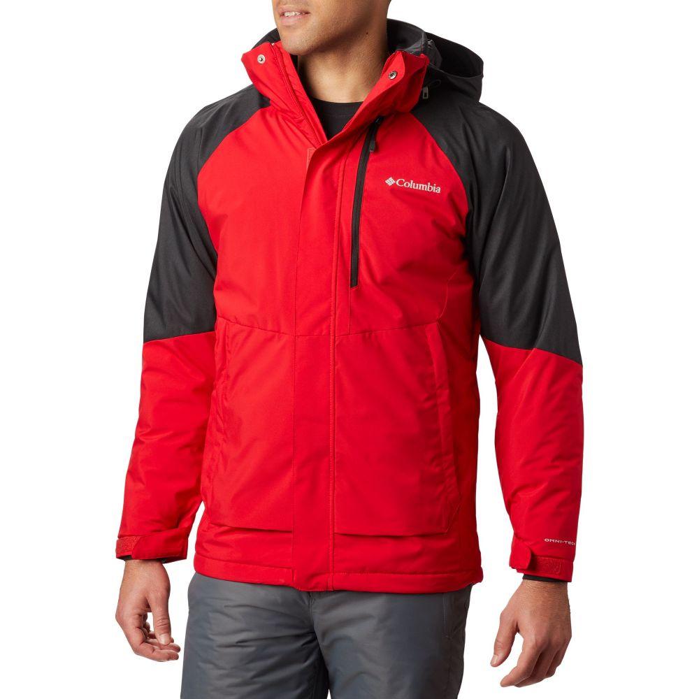 コロンビア Columbia メンズ アウター ジャケット【Wildside Jacket】Mtn Red/Black Heather