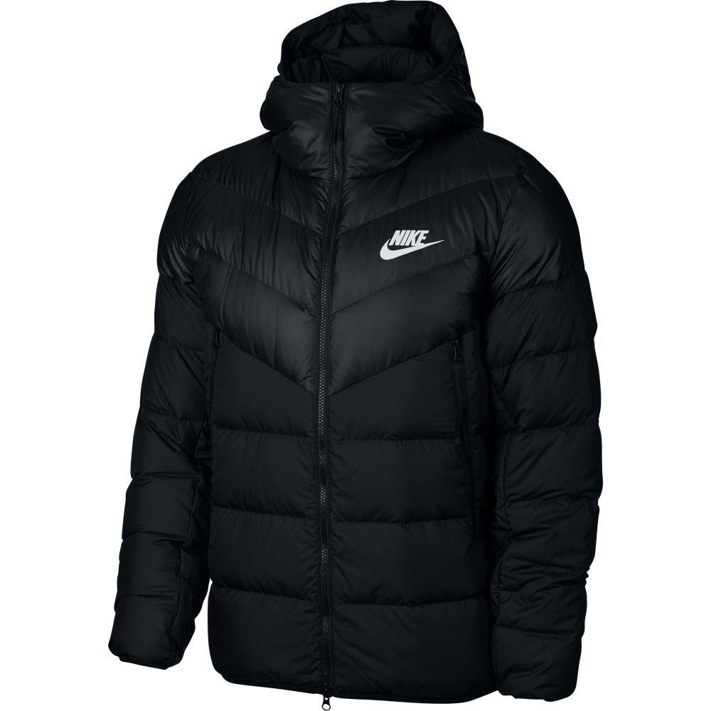 ナイキ Nike メンズ アウター ダウン・中綿ジャケット【Sportswear Windrunner Down Jacket】Black/White
