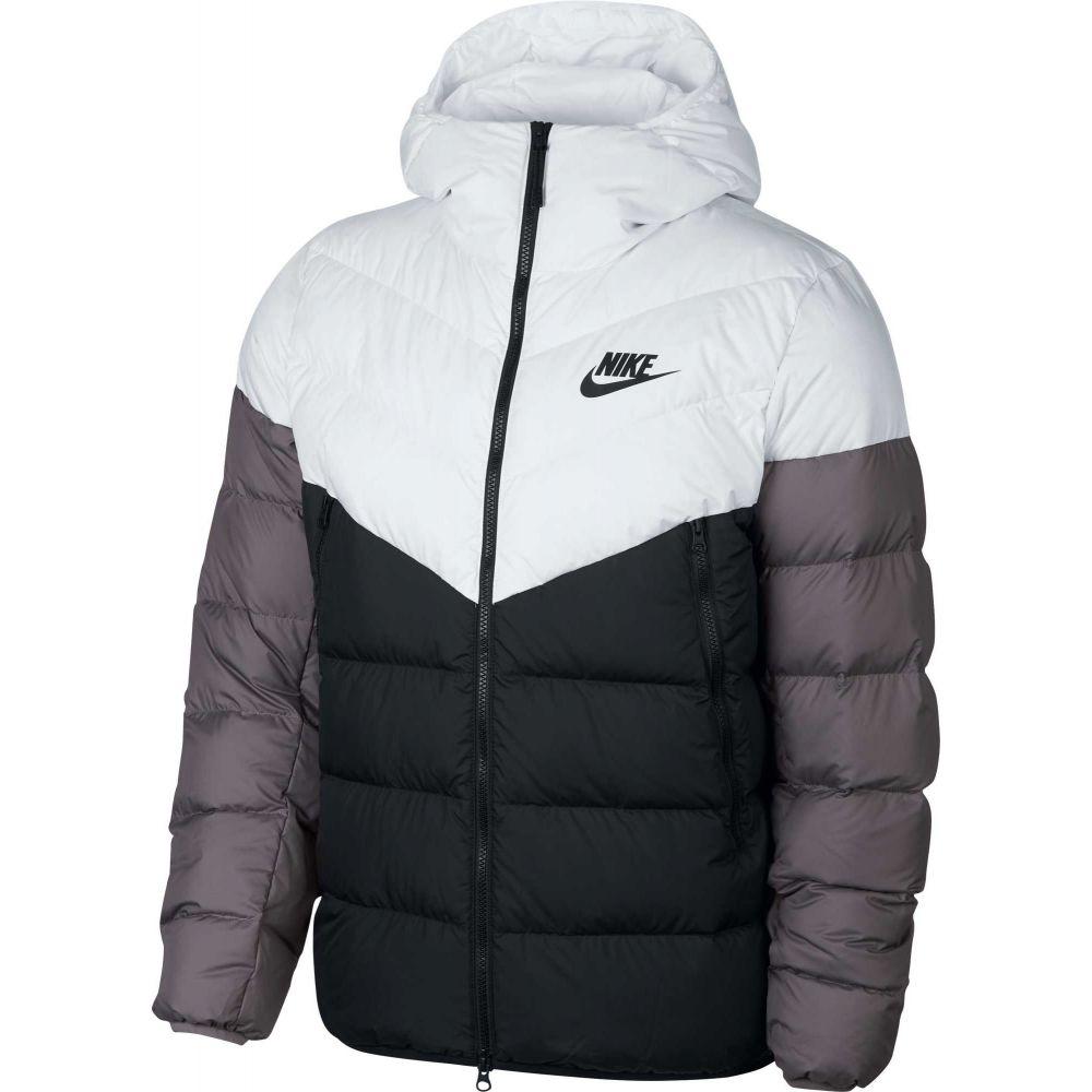 ナイキ Nike メンズ アウター ダウン・中綿ジャケット【Sportswear Windrunner Down Jacket】White/Black/Gunsmoke/Blk