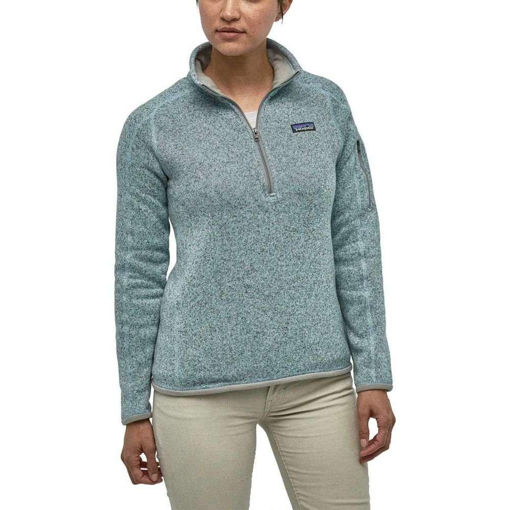 パタゴニア Patagonia レディース トップス ニット・セーター【Better Sweater 1/4 Zip Pullover】Hawthorne Blue