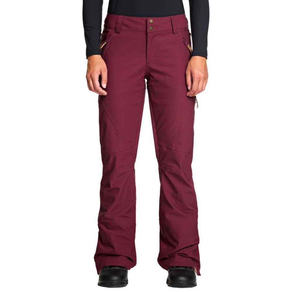ロキシー Roxy レディース スキー・スノーボード ボトムス・パンツ【Cabin Snow Pants】Grape Wine