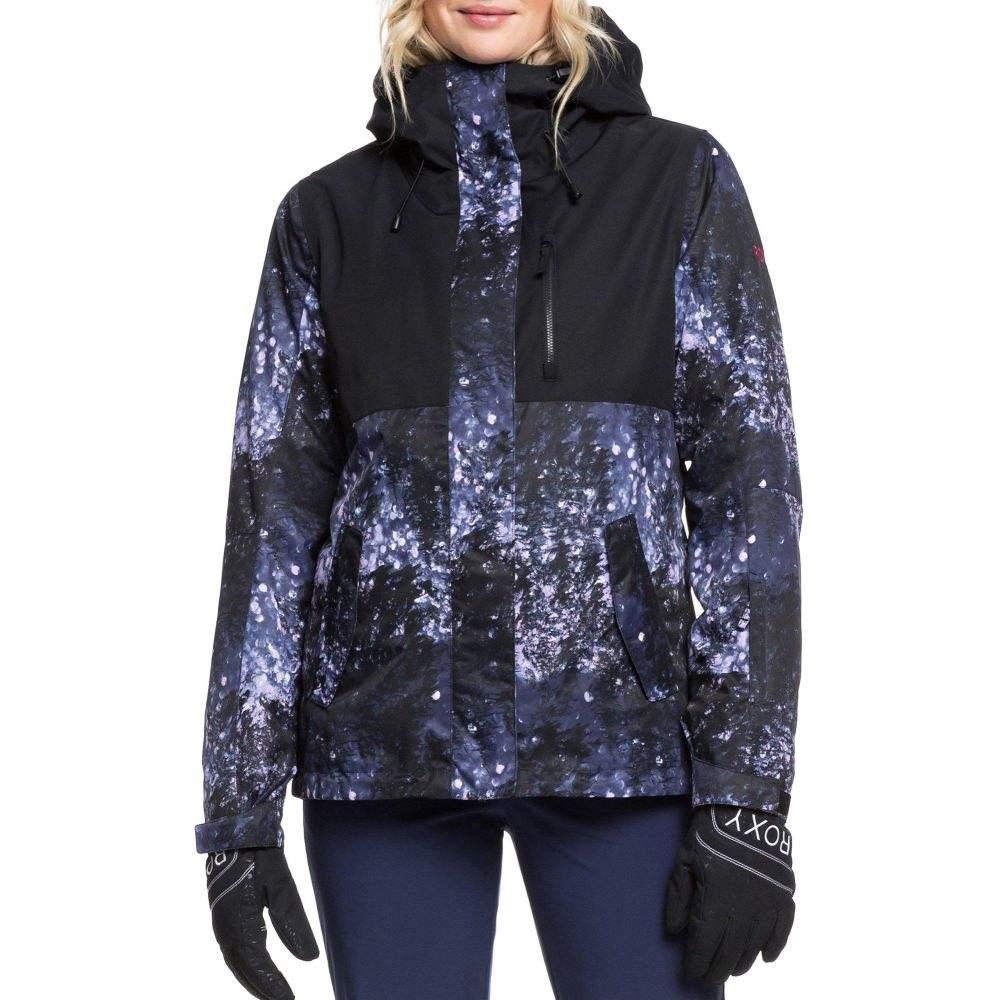 ロキシー Roxy レディース スキー・スノーボード アウター【Jetty 3-in-1 Snow Jacket】Medieval Blue Sparkles