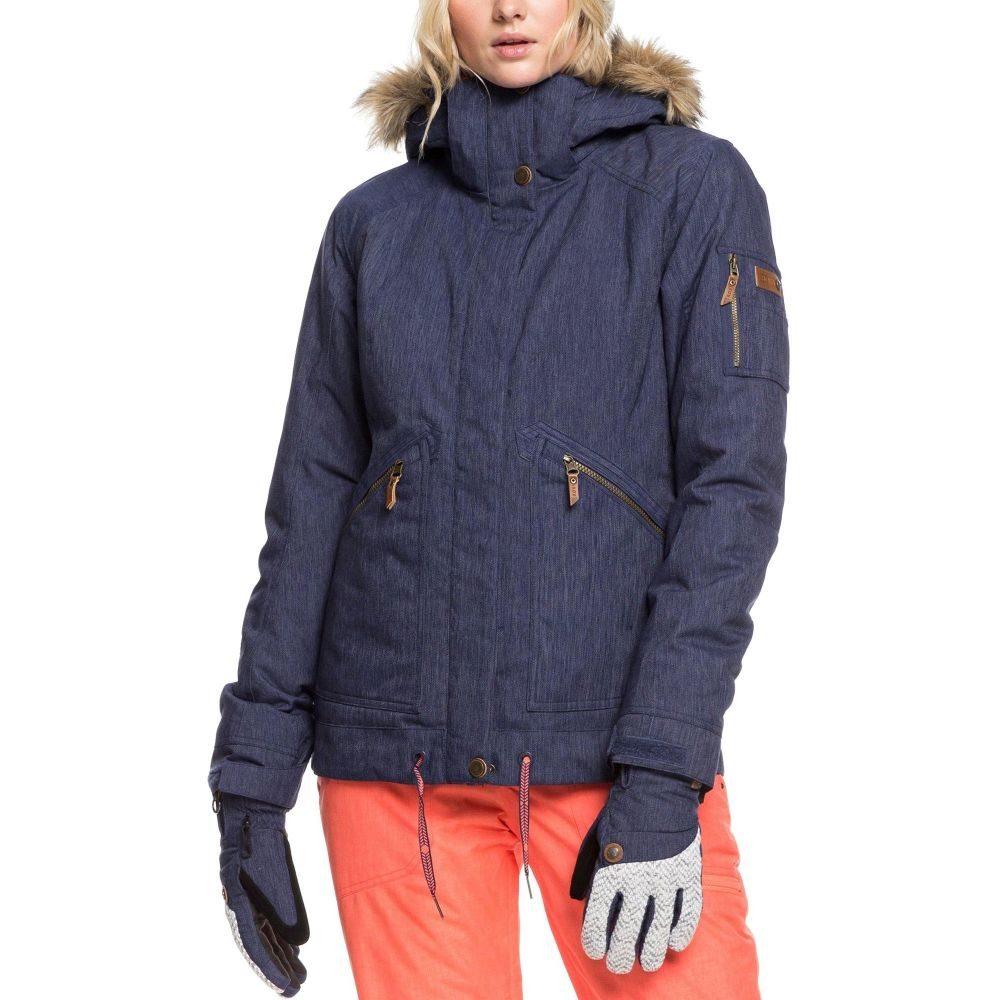 ロキシー Roxy レディース スキー・スノーボード アウター【Meade Denim Snow Jacket】Mid Denim