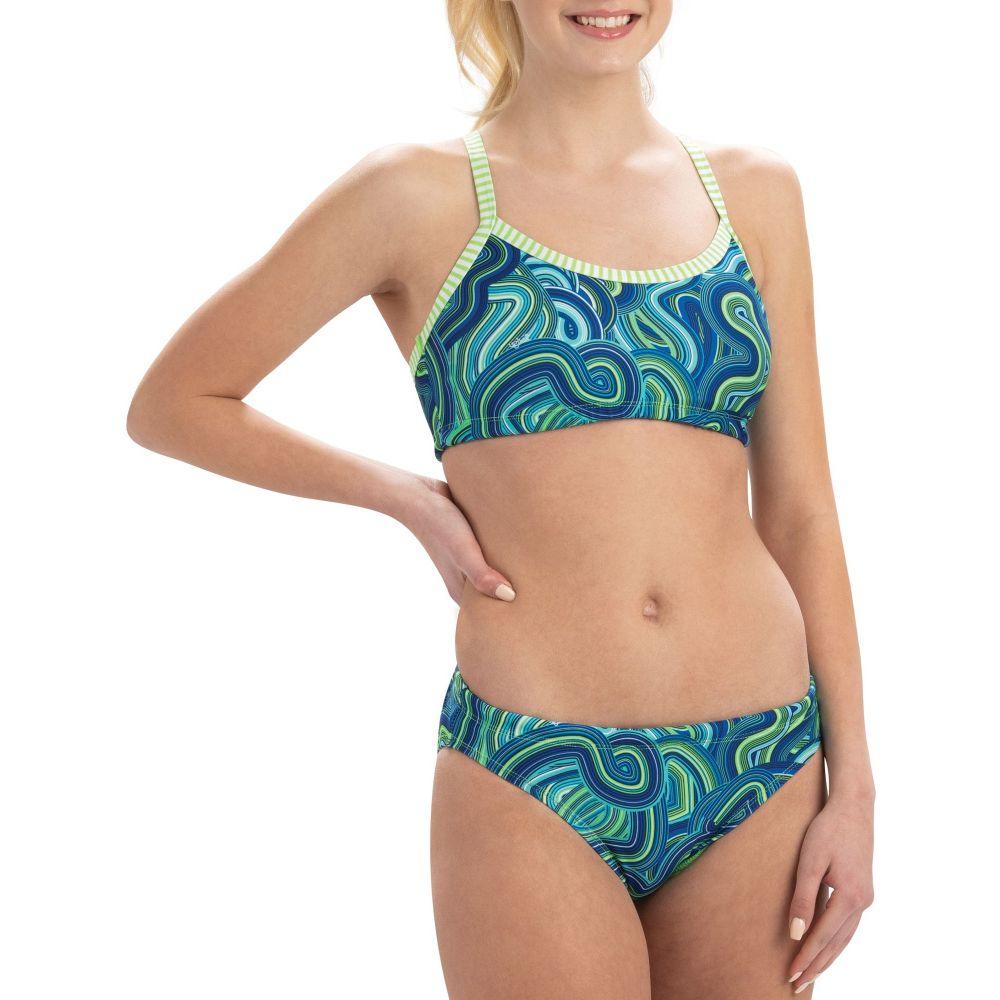 ドルフィン Dolfin レディース 水着・ビーチウェア 上下セット【Uglies Print Workout Two Piece Swimsuit】Waves For Days
