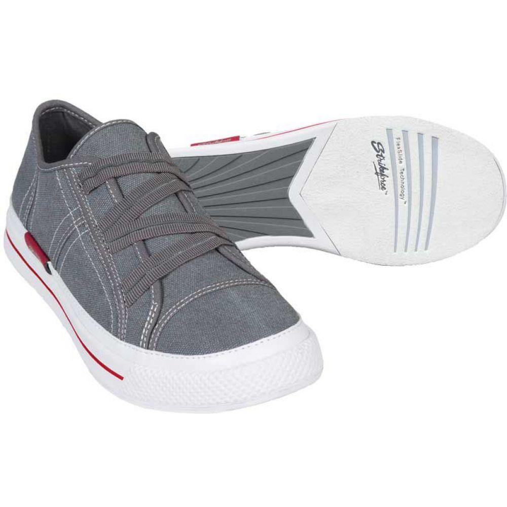ストライクフォース Strikeforce レディース ボウリング シューズ・靴【Cali Grey Bowling Shoes】Grey