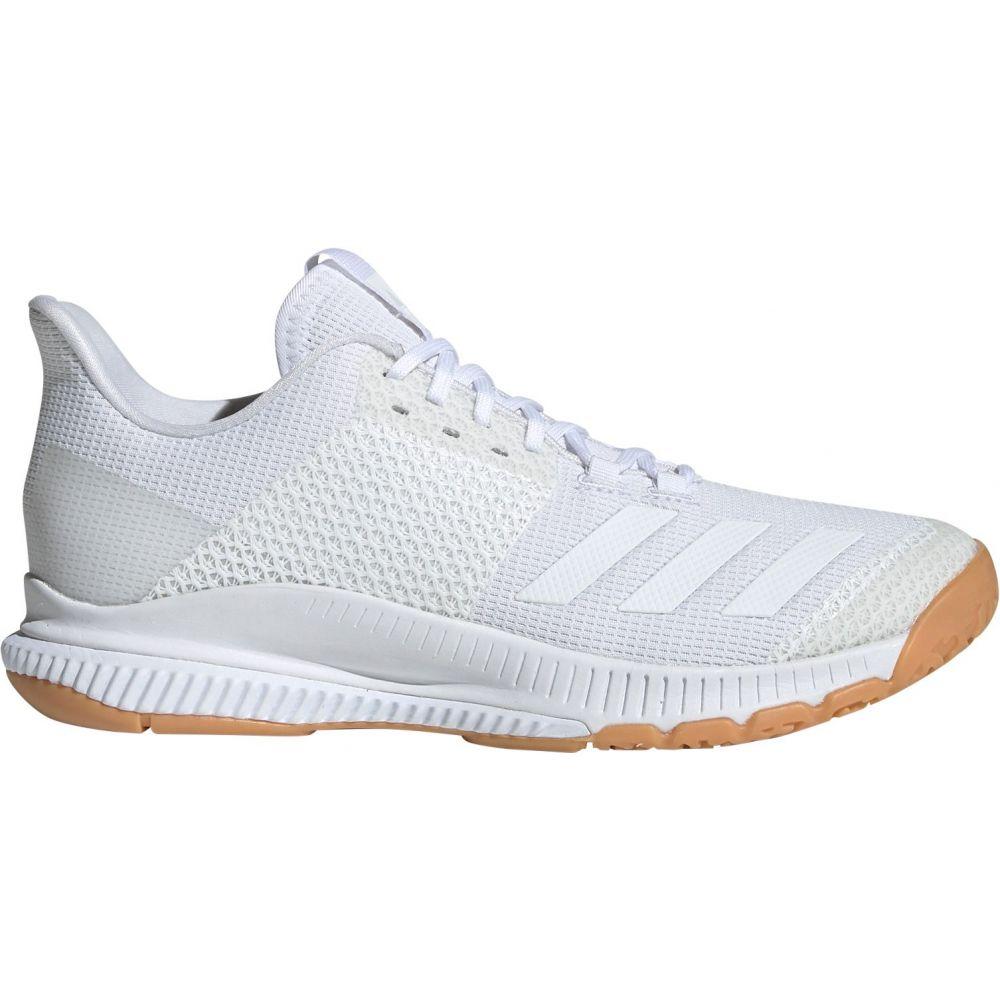 アディダス adidas レディース バレーボール シューズ・靴【Crazyflight Bounce 3 Volleyball Shoes】White/Gum