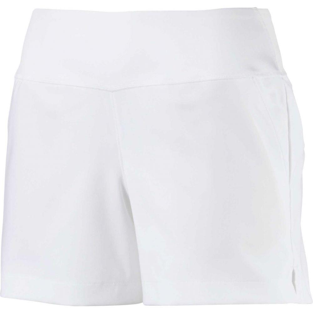 プーマ PUMA レディース ゴルフ ボトムス・パンツ【PWRSHAPE Golf Shorts】Bright White