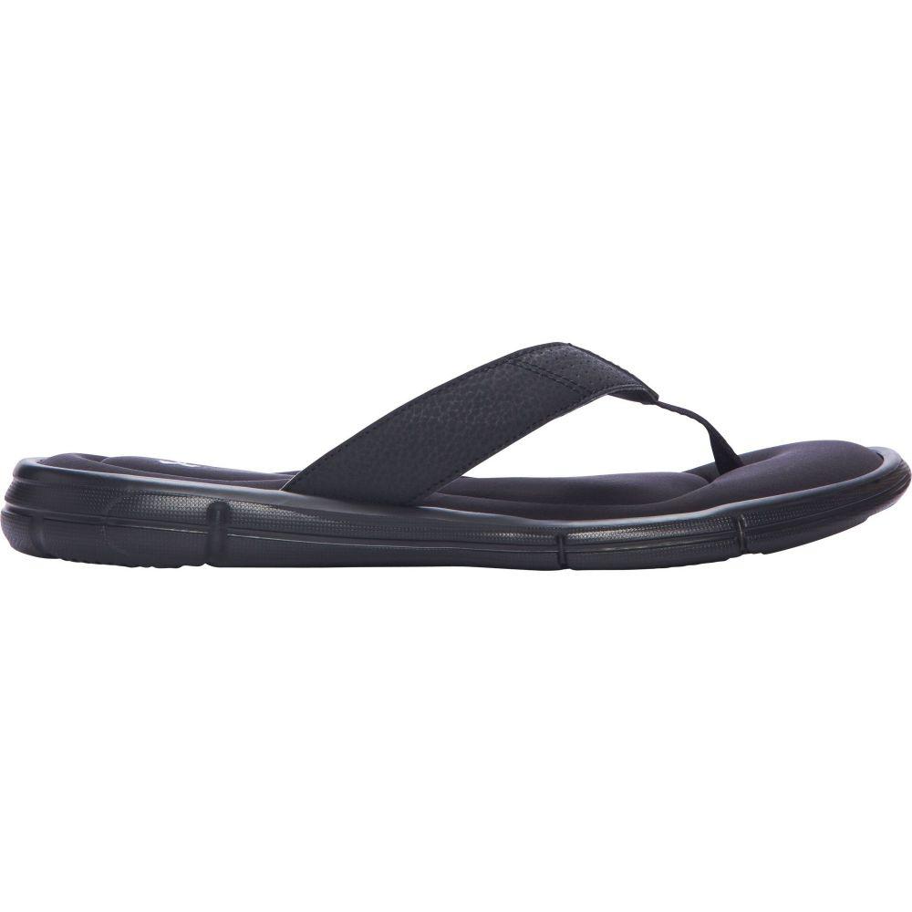 アンダーアーマー Under Armour メンズ ビーチサンダル シューズ・靴【Ignite II Thong Flip Flops】Black/Silver