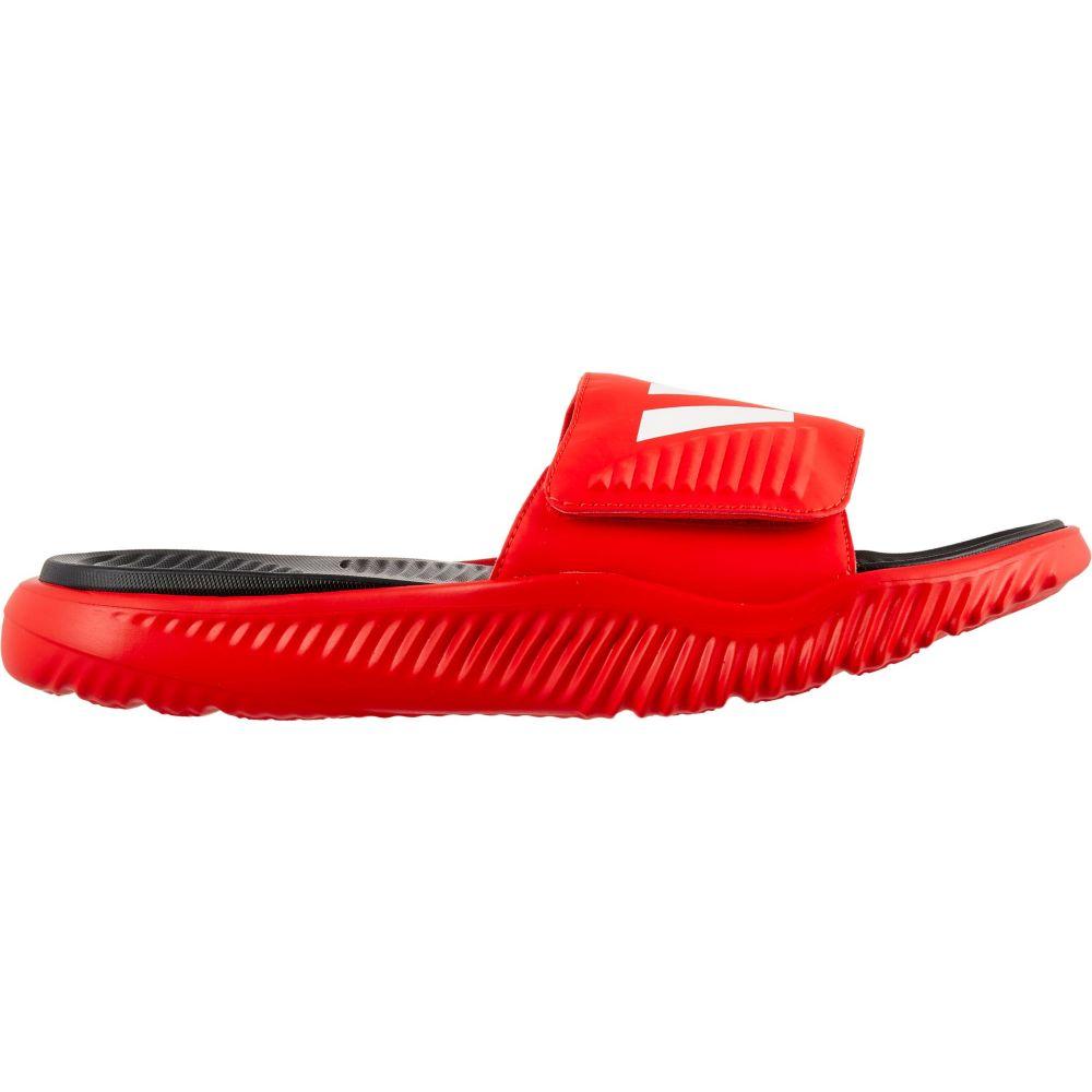 アディダス adidas メンズ サンダル シューズ・靴【Alphabounce Slides】Red/White
