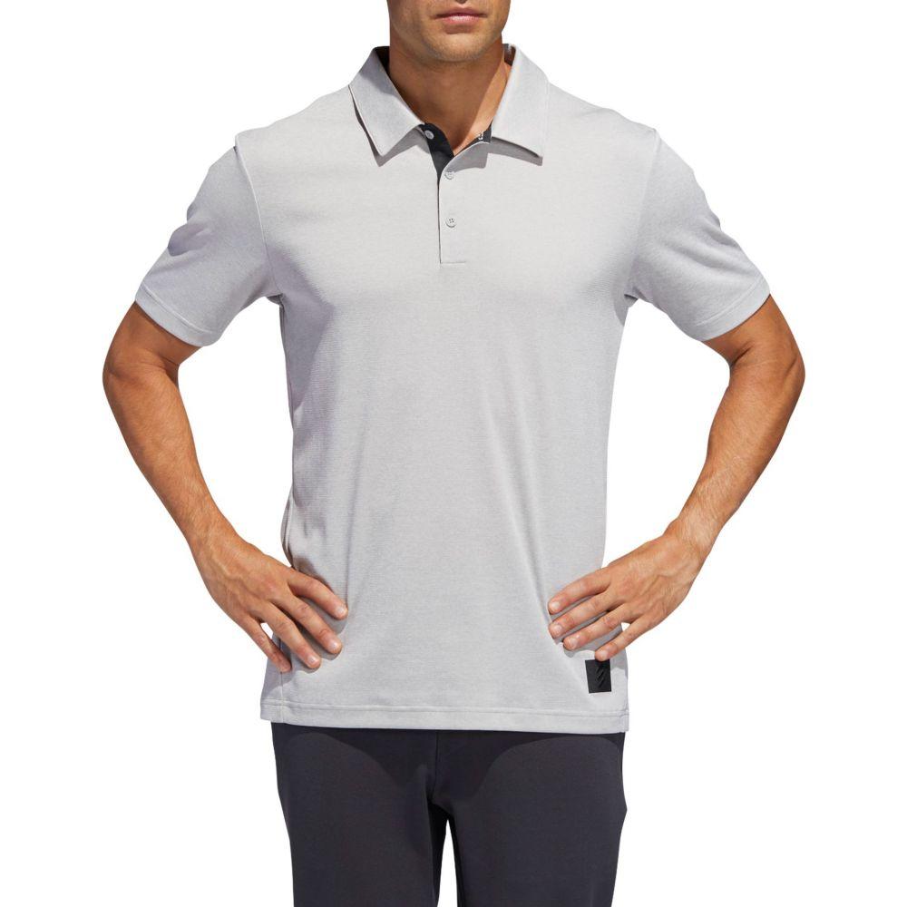 アディダス adidas メンズ ゴルフ ポロシャツ トップス【Adicross Transition Golf Polo】Grey Two