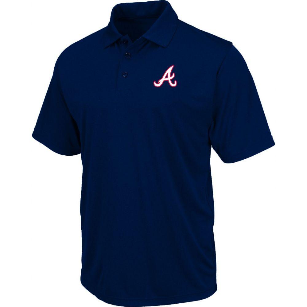 マジェスティック Majestic メンズ ポロシャツ トップス【Atlanta Braves Polo】