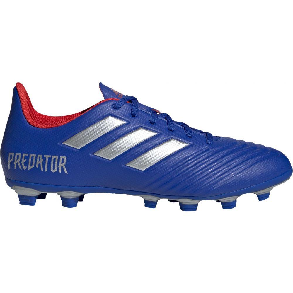 アディダス adidas メンズ サッカー スパイク シューズ・靴【Predator 19.4 FXG Soccer Cleats】Blue/Silver