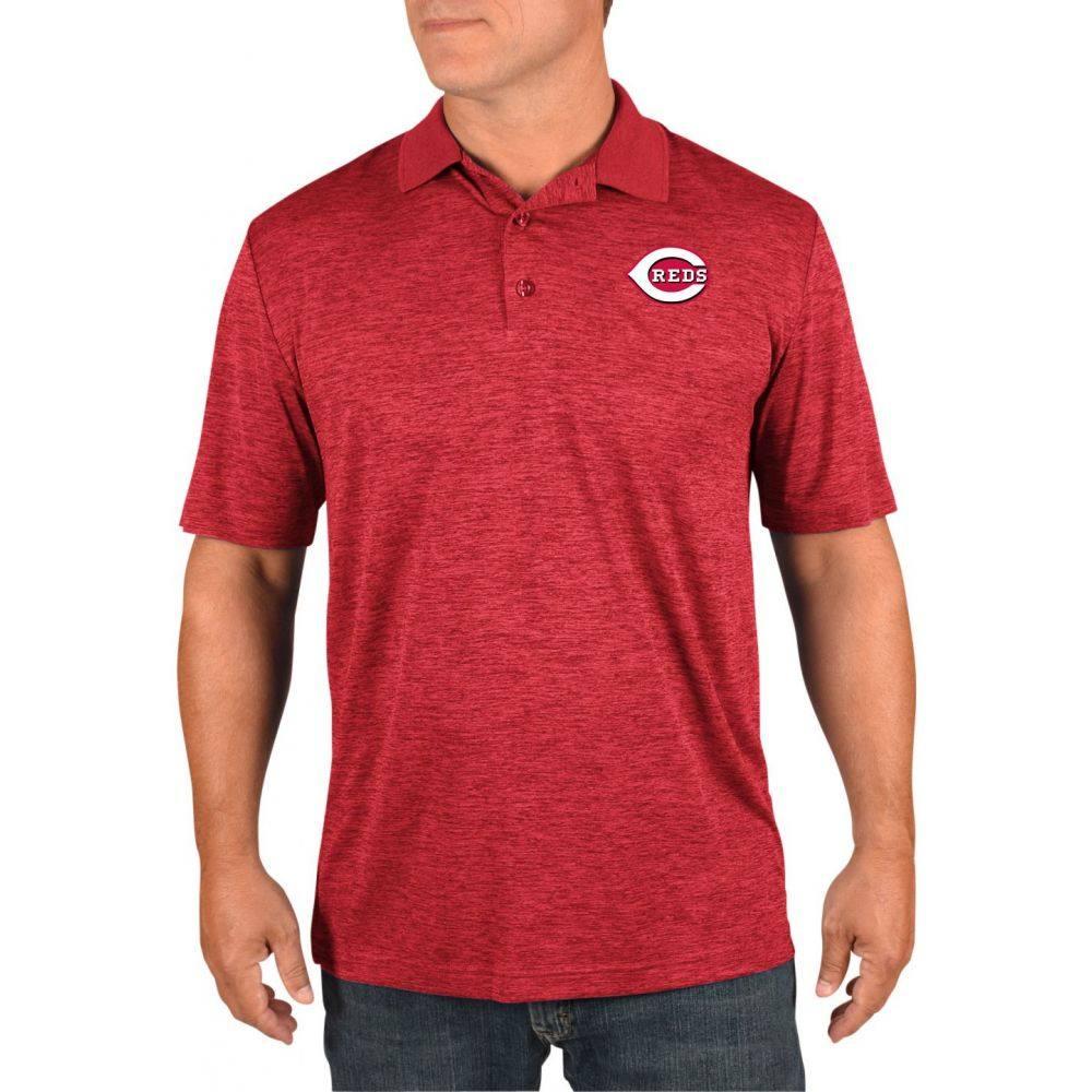 マジェスティック Majestic メンズ ポロシャツ トップス【Cincinnati Reds Polo】