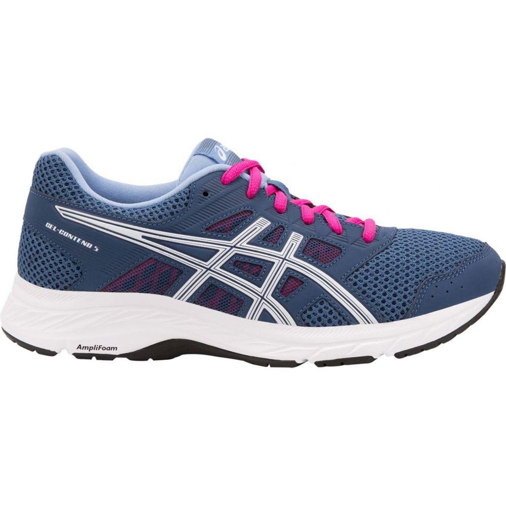 アシックス ASICS レディース ランニング・ウォーキング シューズ・靴【GEL-Contend 5 Running Shoes】Navy/Pink