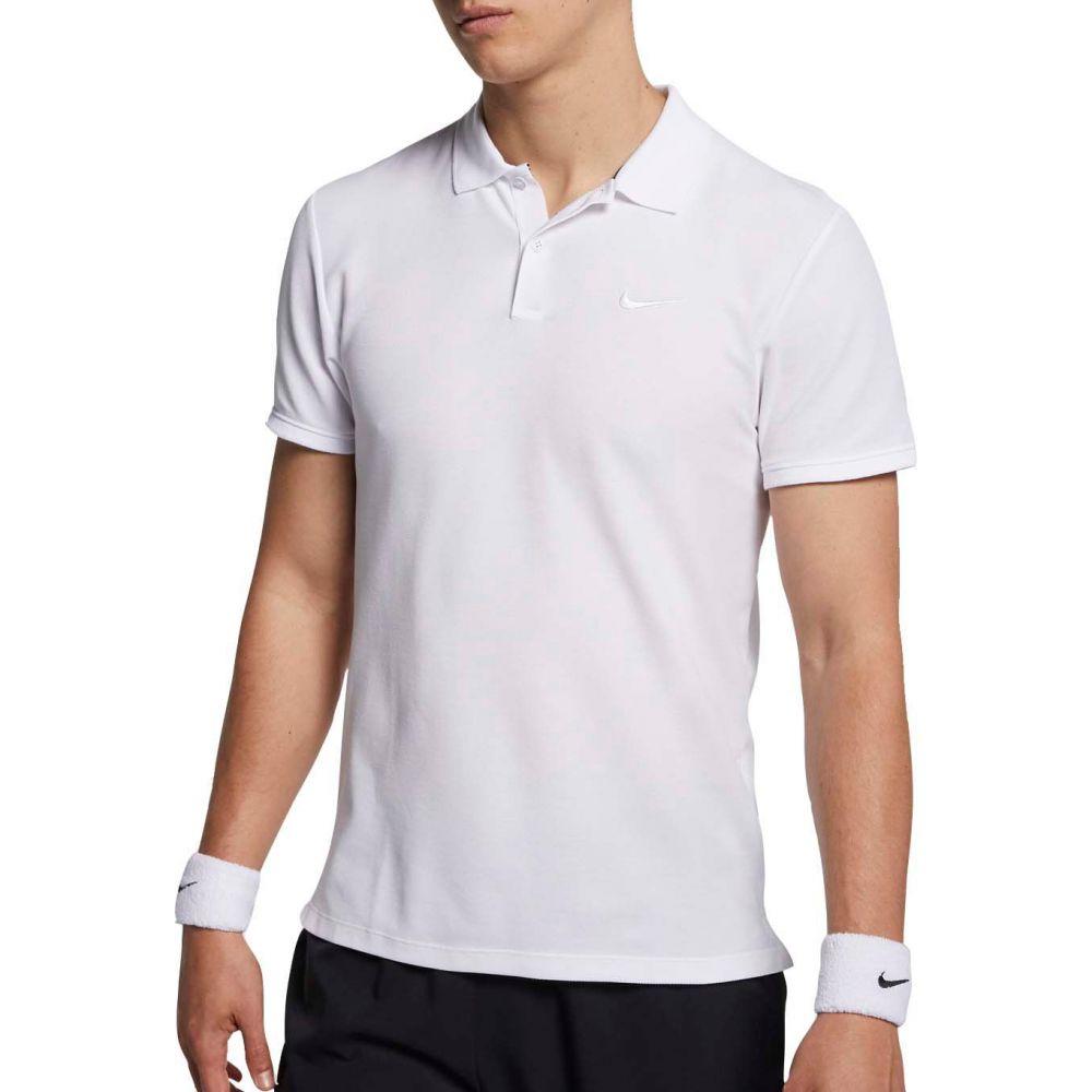 ナイキ Nike メンズ テニス ポロシャツ トップス【Court Advantage Tennis Polo】White