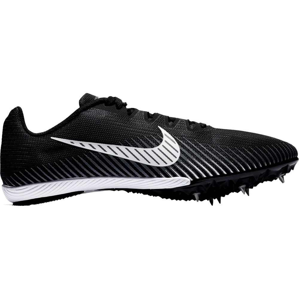 ナイキ Nike メンズ 陸上 シューズ・靴【Zoom Rival M 9 Track and Field Shoes】Black/White