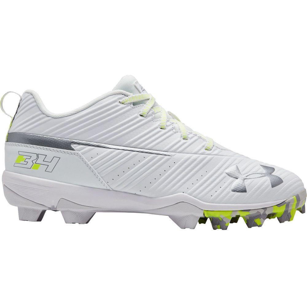 アンダーアーマー Under Armour メンズ 野球 スパイク シューズ・靴【Harper 3 Baseball Cleats】White/White
