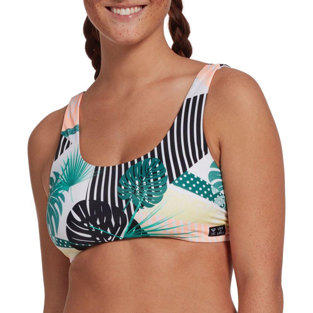 ロキシー Roxy レディース トップのみ 水着・ビーチウェア【Pop Surf Bra Bikini Top】Multi