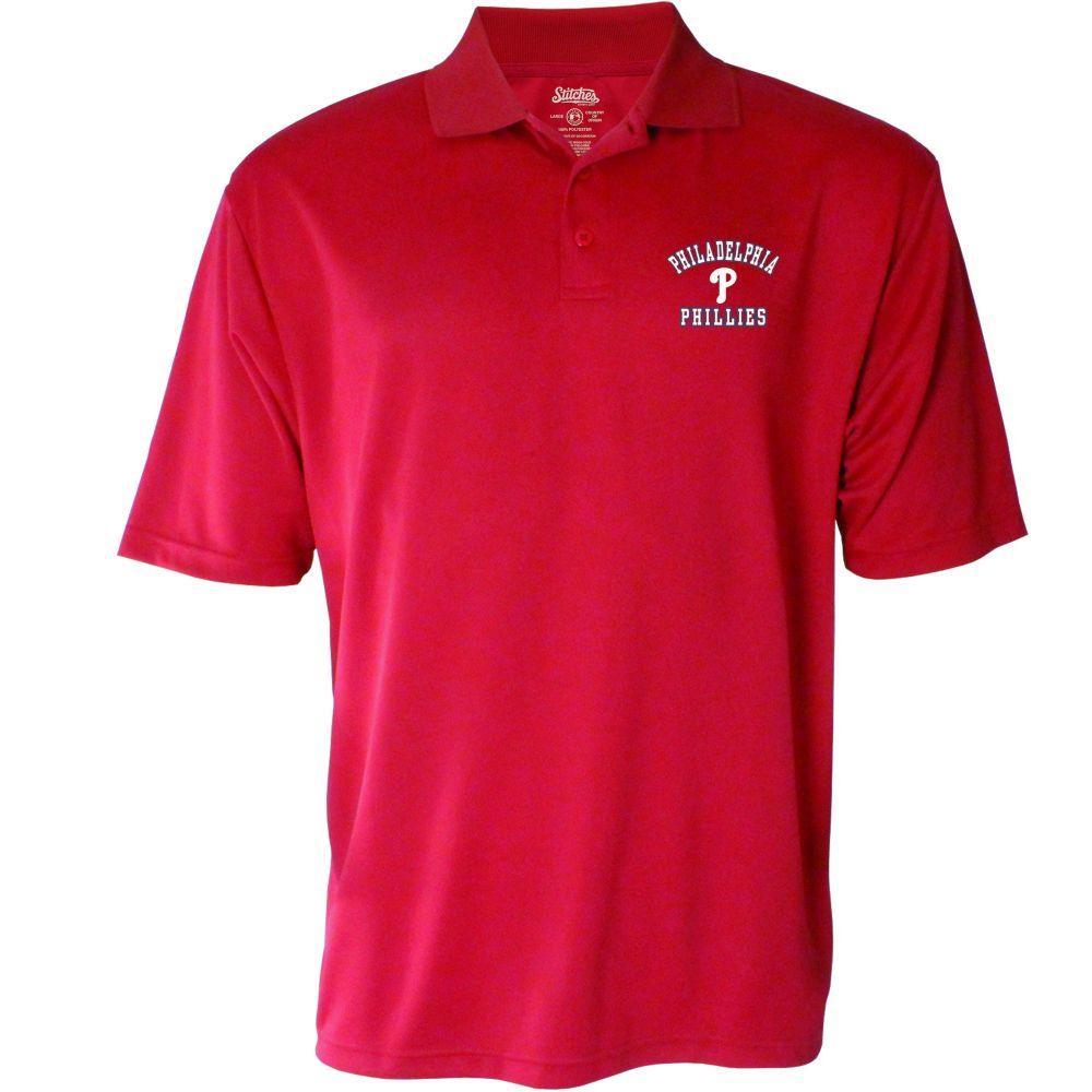 スティッチーズ Stitches メンズ ポロシャツ トップス【Philadelphia Phillies Polo】