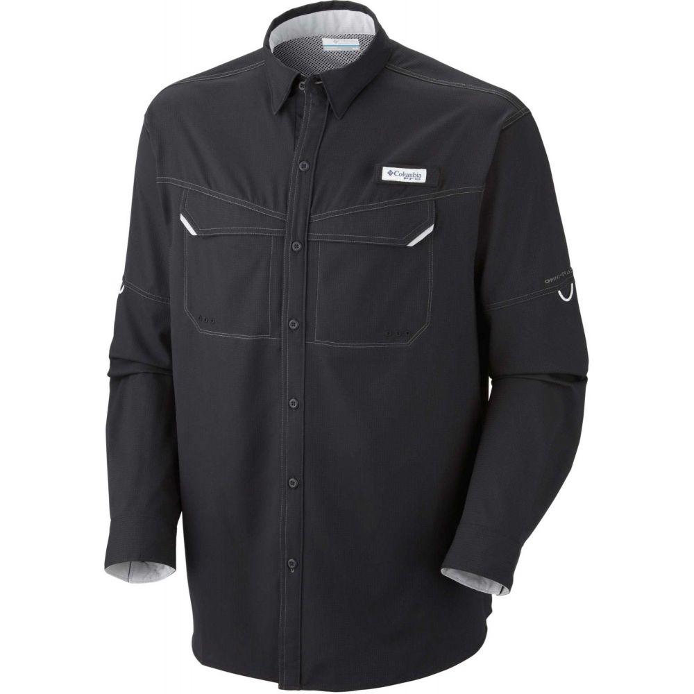 コロンビア Columbia メンズ トップス 【PFG Low Drag Offshore Long Sleeve Shirt】Black