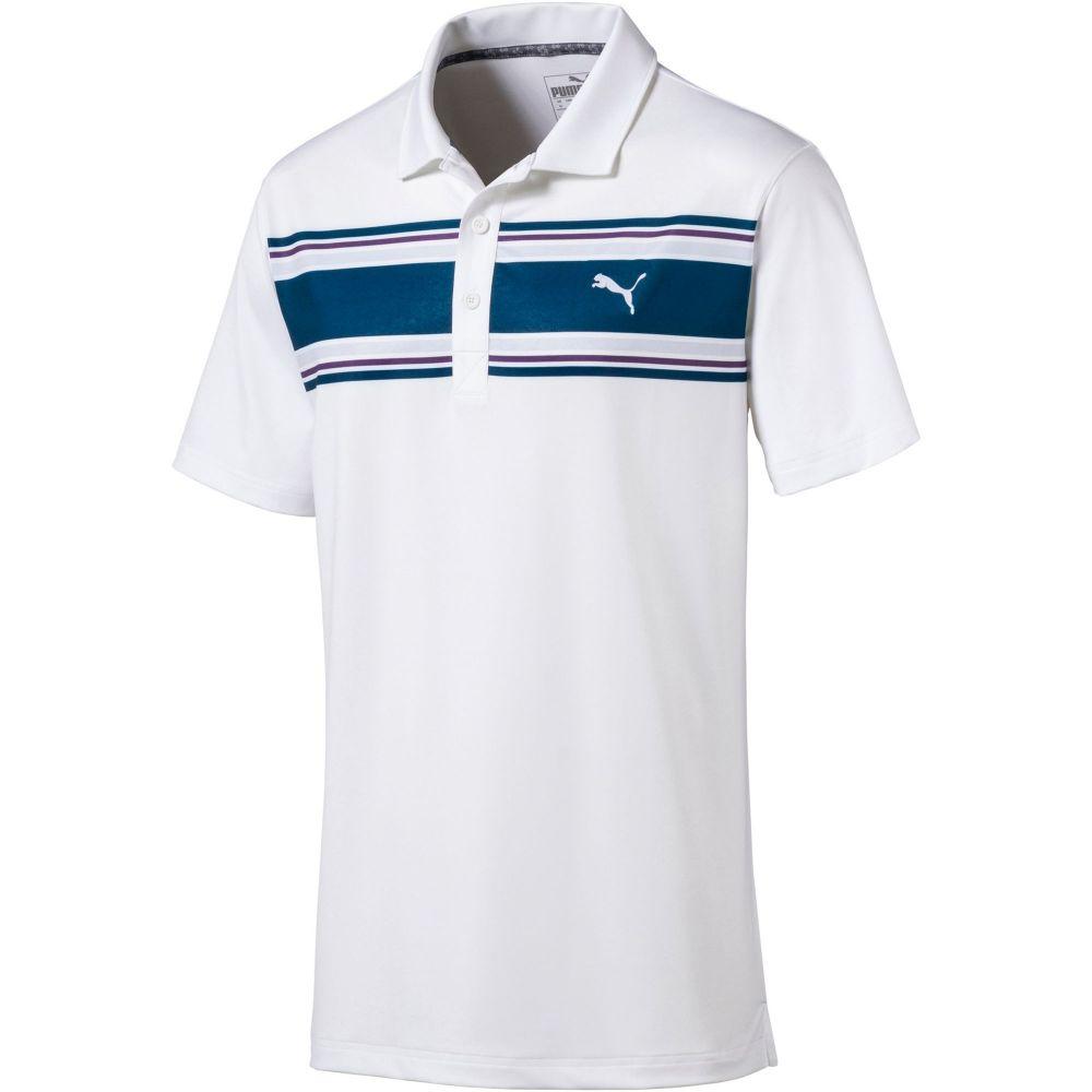 プーマ PUMA メンズ ゴルフ ポロシャツ トップス【Montauk Golf Polo】Gibraltar Sea