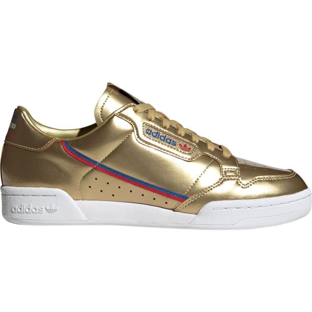 アディダス adidas メンズ スニーカー シューズ・靴【Continental 80 Shoes】Gold/White