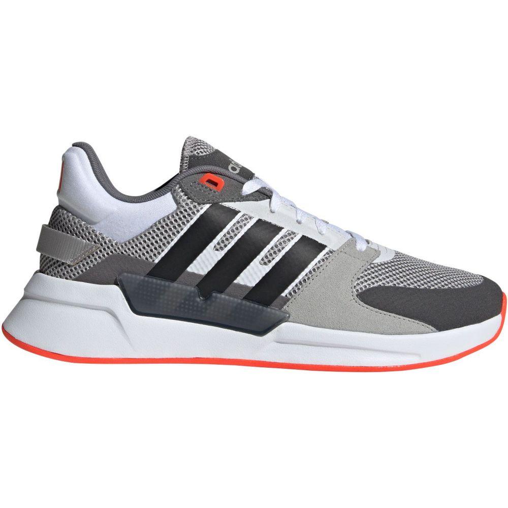 アディダス adidas メンズ スニーカー シューズ・靴【Run 90s Shoes】Grey/Solar Red