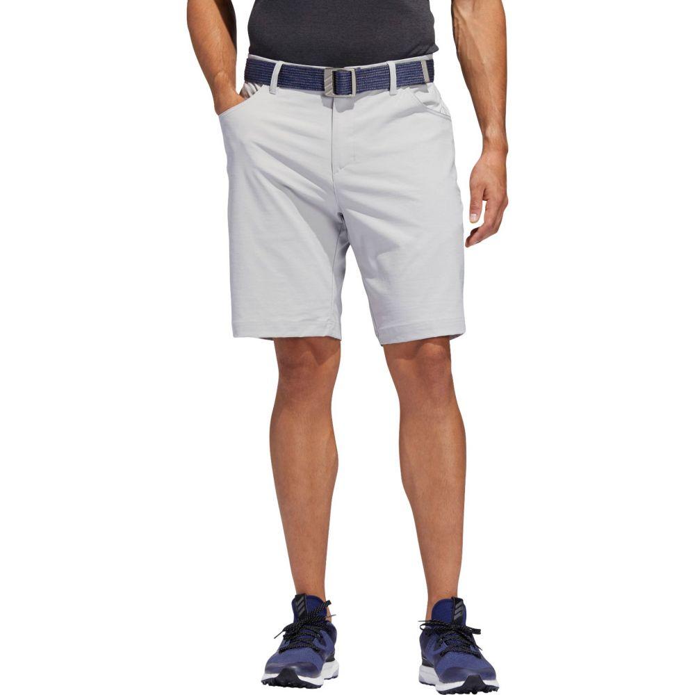 アディダス adidas メンズ ゴルフ ショートパンツ ボトムス・パンツ【Adicross 5-Pocket Golf Shorts】グレー Two