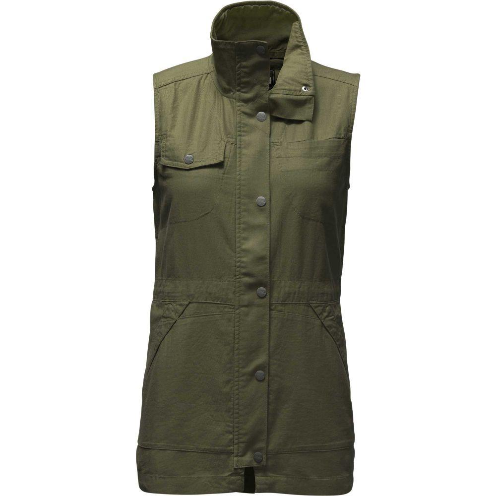 ザ ノースフェイス The North Face レディース ベスト・ジレ トップス【Cameroon Utility Vest】New Taupe Green