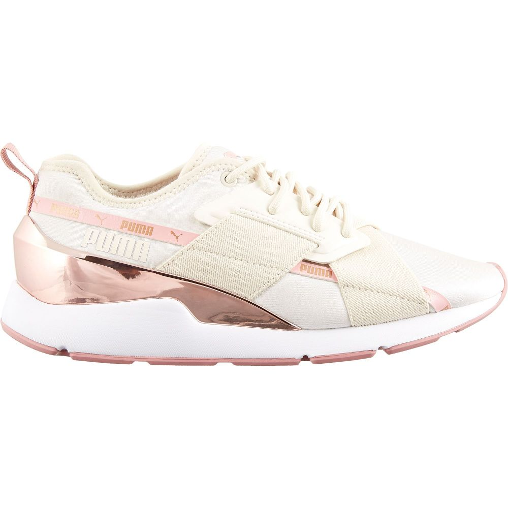 プーマ PUMA レディース シューズ・靴 【Muse X-2 Metallic Shoes】Pink/Rose Gold