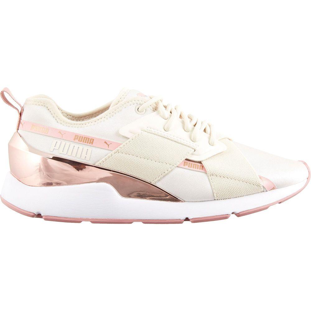 プーマ PUMA レディース シューズ・靴 【Muse X-2 Metallic Shoes】Pink/Rose Gold
