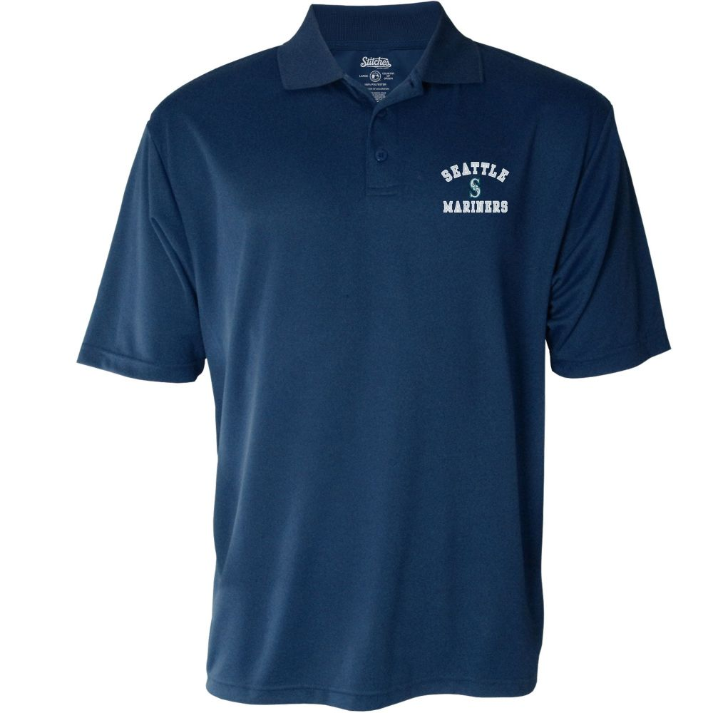 スティッチーズ Stitches メンズ ポロシャツ トップス【Seattle Mariners Polo】