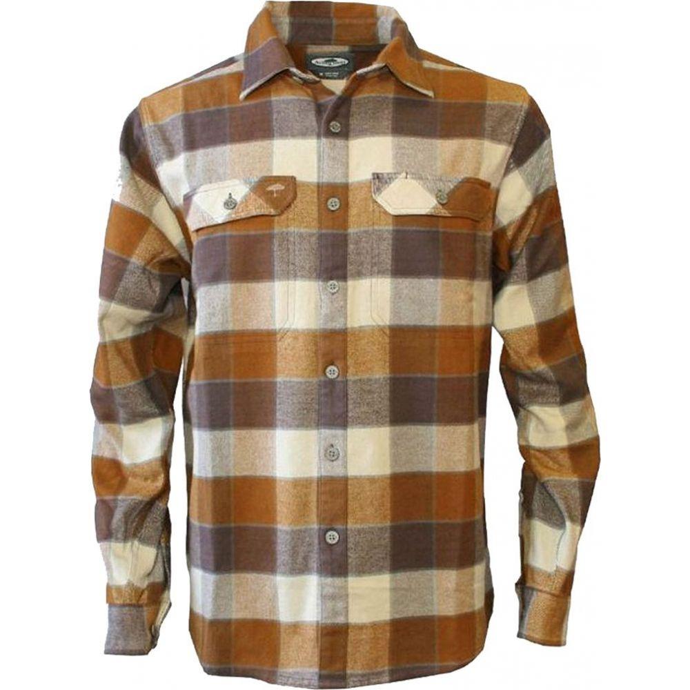 アーバーウェア Arborwear メンズ シャツ フランネルシャツ トップス【Chagrin Flannel Shirt (Regular and Big & Tall)】Bronze